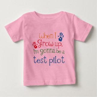 テストパイロット(未来)の子供 ベビーTシャツ