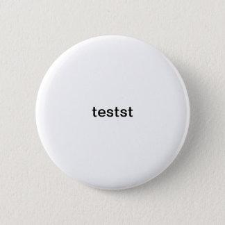 テスト 5.7CM 丸型バッジ