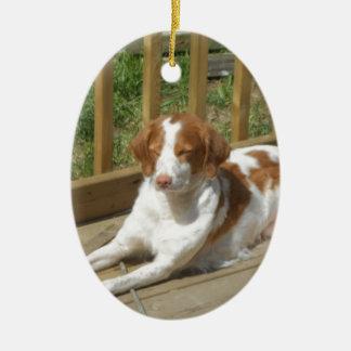 テッサ私の小さい子犬 セラミックオーナメント