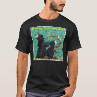 テッドおよび幸運 Tシャツ