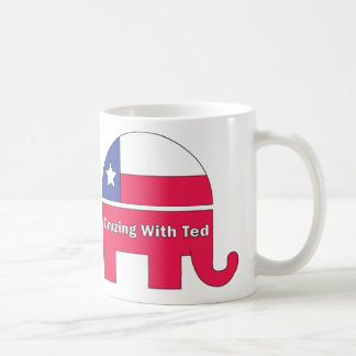 テッドの2016年のサポートテッドCruzとのCruzing コーヒーマグカップ