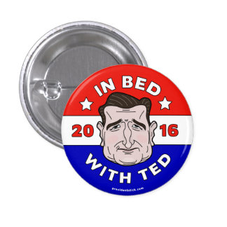 テッド、テッドCruz 2016ボタンまたはピンが付いているベッドでは 3.2cm 丸型バッジ