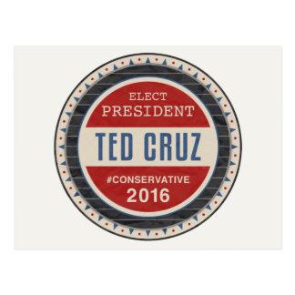 テッドCruz 2016年 ポストカード