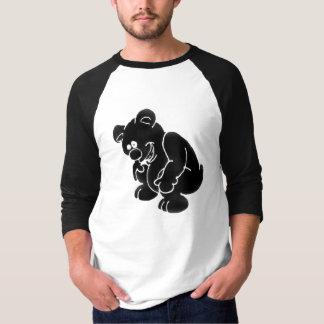 テディのステンシル Tシャツ