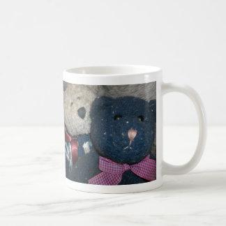 テディの青 コーヒーマグカップ