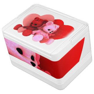 テディのBearzのバレンタイン Iglooクーラーボックス