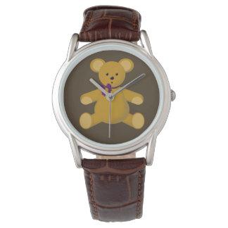 テディー・ベアに寄添って下さい 腕時計