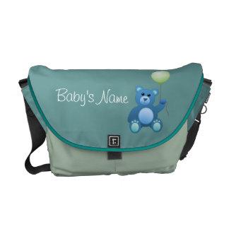 テディー・ベアのおむつのバッグ メッセンジャーバッグ