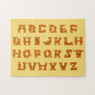 テディー・ベアのアルファベットのパズル ジグソーパズル