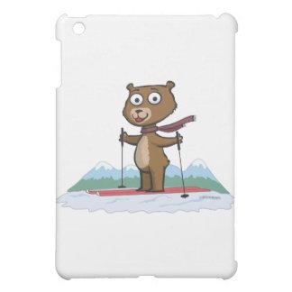 テディー・ベアのスキー iPad MINI CASE