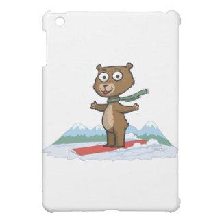 テディー・ベアのスノーボーダー iPad MINI CASE