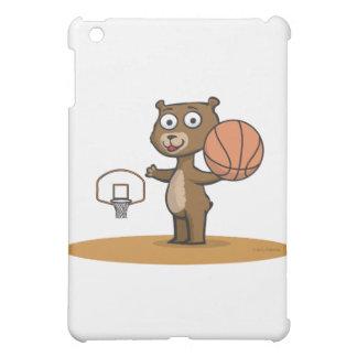 テディー・ベアのバスケットボール iPad MINI カバー