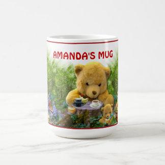 テディー・ベアのピクニック~のタンブラー コーヒーマグカップ