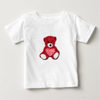 テディー・ベアのベビーの罰金のジャージーのTシャツ ベビーTシャツ
