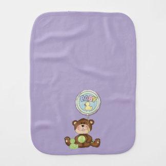 テディー・ベアのユニセックスな薄紫 バープクロス