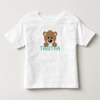 テディー・ベアの幼児のティー トドラーTシャツ