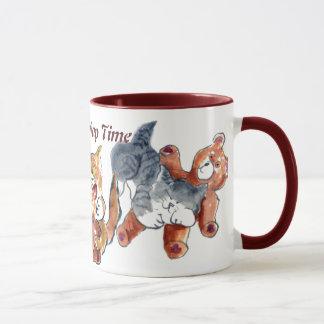 テディー・ベアの昼寝の時間 マグカップ