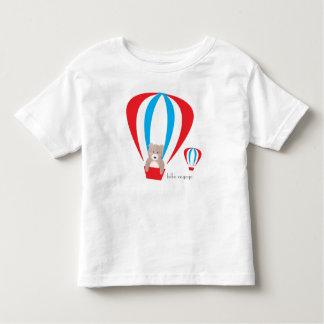テディー・ベアの気球の幼児のティー トドラーTシャツ