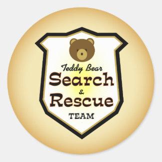 テディー・ベアの調査および救助隊 ラウンドシール