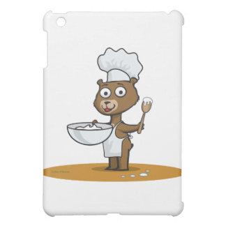 テディー・ベアの調理師 iPad MINIケース
