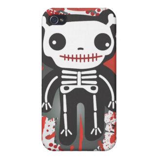テディー・ベアの骨組血のiphoneの場合 iPhone 4/4S ケース