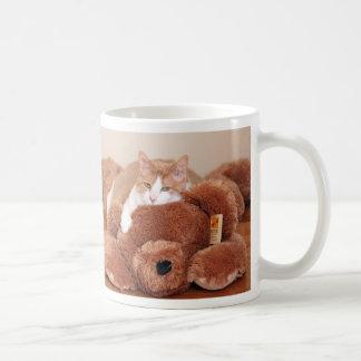 テディー・ベア猫 コーヒーマグカップ