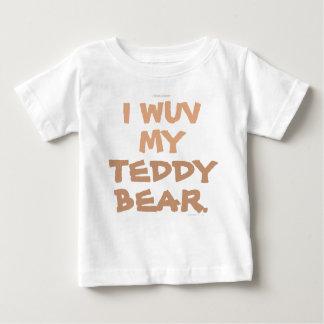 テディー・ベア ベビーTシャツ