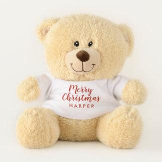 テディー・ベア-メリークリスマス テディベア