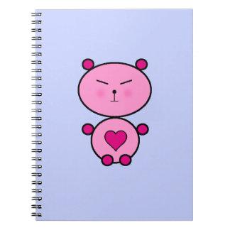 テディ愛 ノートブック
