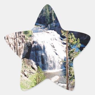 テナガザルの滝 星シール