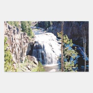 テナガザルの滝 長方形シール