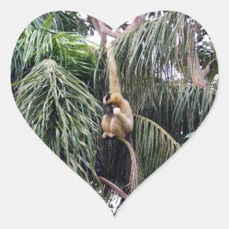 テナガザル、_Just_Hanging_Around、_Heart_Sticker ハートシール