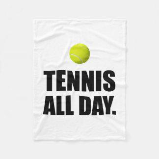 テニスすべてのDat フリースブランケット