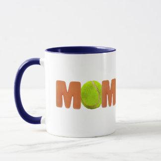テニスのお母さんの母の日のギフト マグカップ