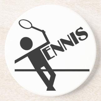 テニスのコースターは、カスタマイズ コースター