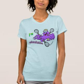 テニスのタコレディース服装のTシャツ Tシャツ