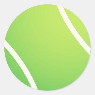 テニスのチームjerseysのためのクールなテニス・ボール ラウンドシール