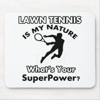 テニスのデザイン マウスパッド