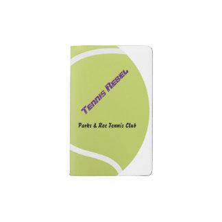 テニスのノート ポケットMoleskineノートブック