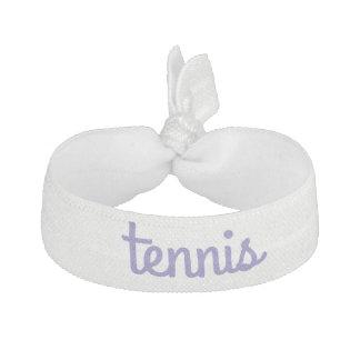 テニスの毛のオーナメント ヘアタイ