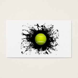テニスの都市スタイル 名刺