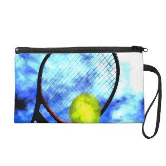 テニスの1日中グランジなスタイル リストレット