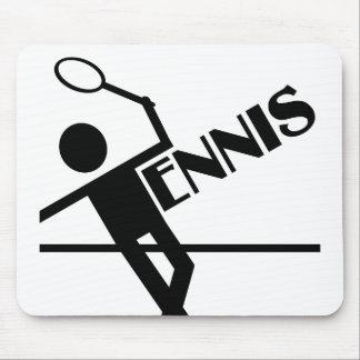 テニスのmousepadは、カスタマイズ マウスパッド