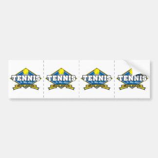 テニスは私の生命です バンパーステッカー