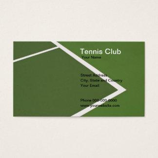 テニスクラブの名刺 名刺