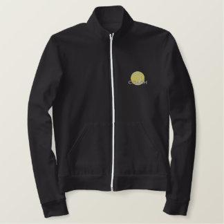 テニスコーチ 刺繍入りジャケット