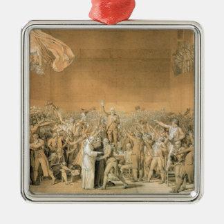 テニスコートの宣誓、1789年6月20日、1791 2 メタルオーナメント
