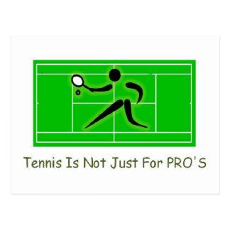 テニスコート ポストカード