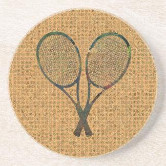 テニスラケットのコースター コースター