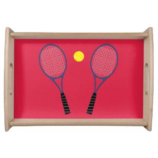 テニスラケットのトレイ トレー